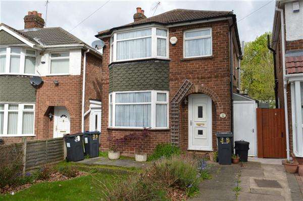 3 Bedrooms Detached House for sale in Coleraine Road, Great Barr, Birmingham