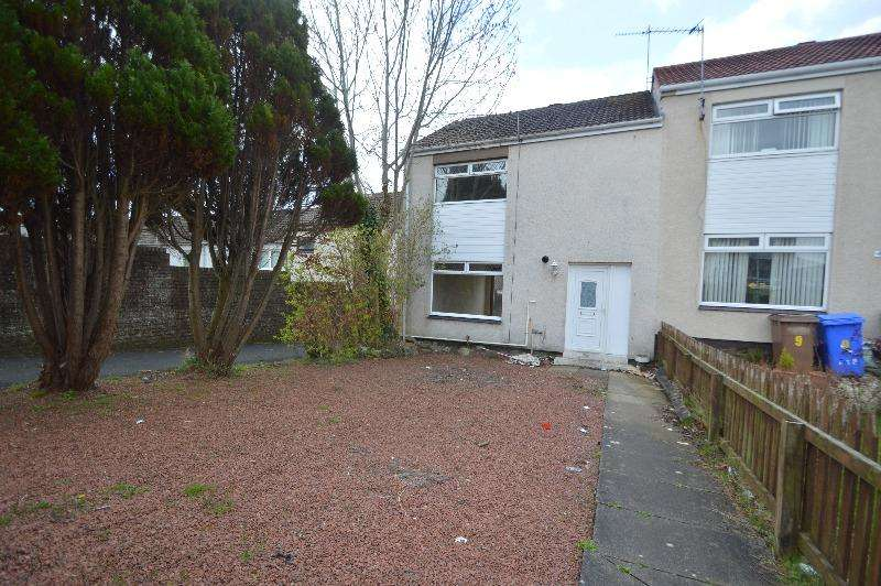 2 Bedrooms Terraced House for sale in Harebell Place, Ayr, South Ayrshire, KA7 3YD
