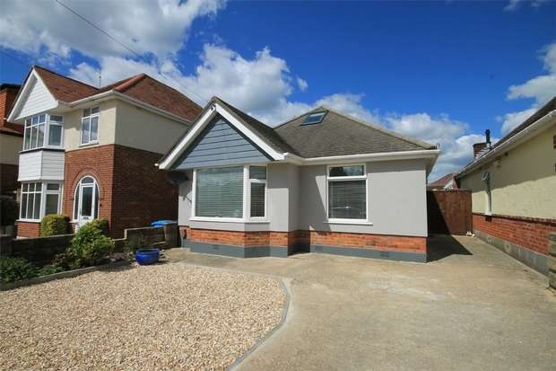 3 Bedrooms Detached Bungalow for sale in Oakdale, Oakdale, Poole, Dorset