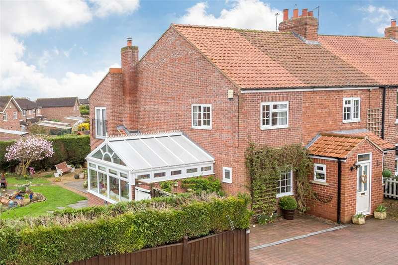 4 Bedrooms Semi Detached House for sale in Westfield Cottages, Back Lane, Copmanthorpe, York, YO23