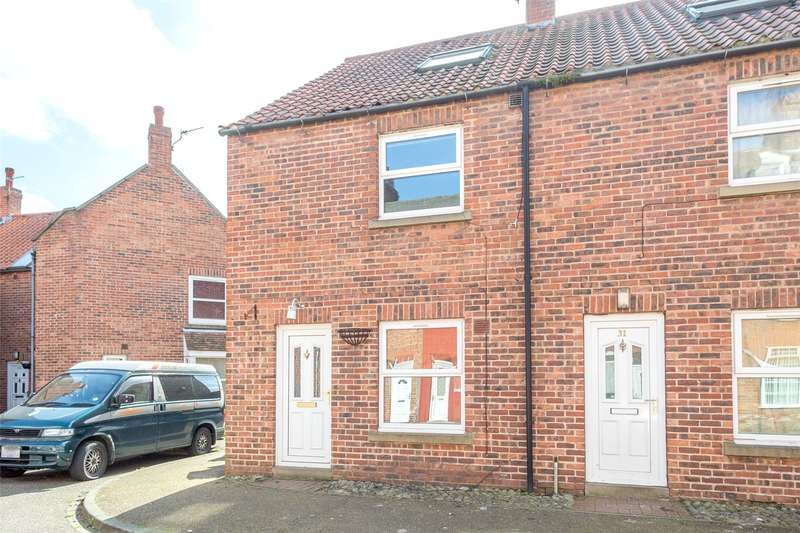 3 Bedrooms End Of Terrace House for sale in Alma Terrace, Selby, YO8