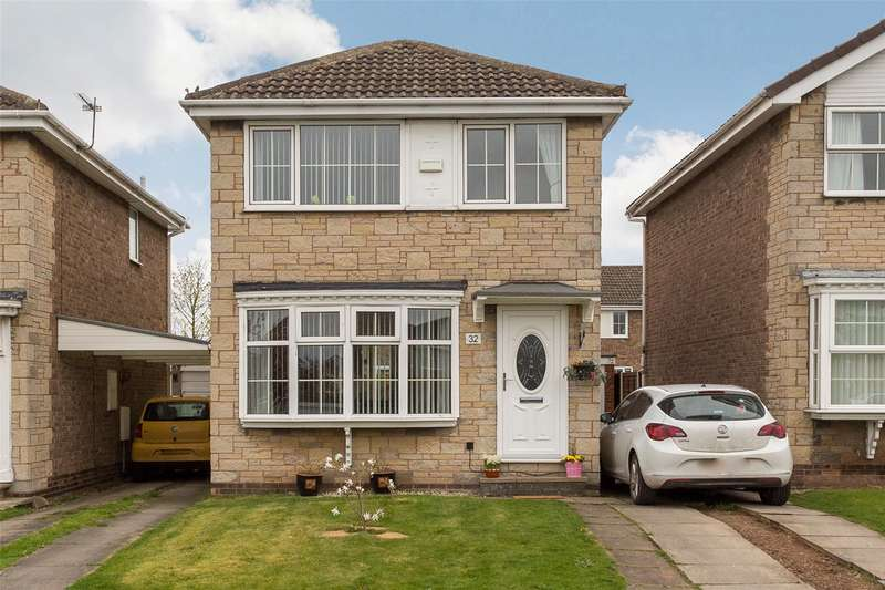 3 Bedrooms Detached House for sale in Wood Close, Thorpe Willoughby, Selby, YO8