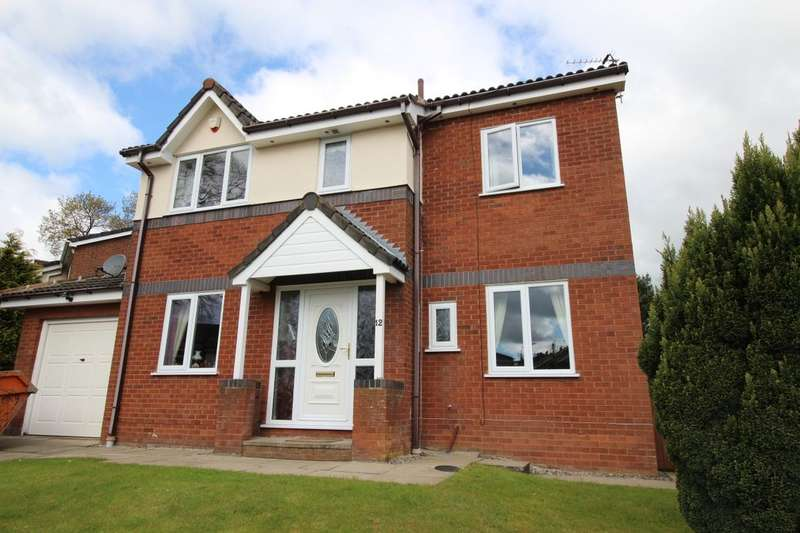 4 Bedrooms Detached House for sale in Ulverston Drive, Rishton, Blackburn, BB1
