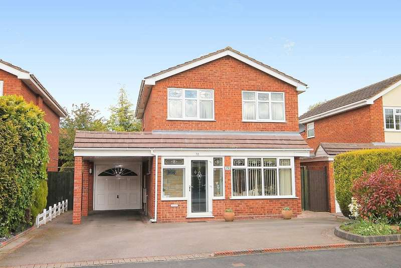 3 Bedrooms Detached House for sale in Newstead, Riverside, Tamworth B79 7UU