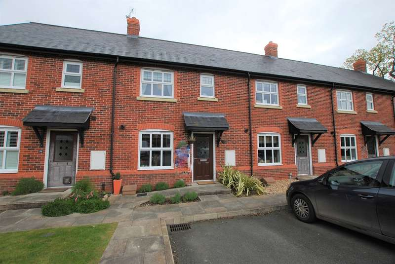 3 Bedrooms Terraced House for sale in Cheshires Way, Saighton, Chester