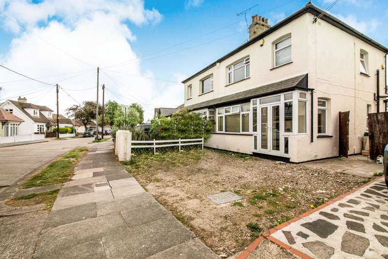 3 Bedrooms Semi Detached House for sale in North Crescent, Southend-On-Sea, SS2