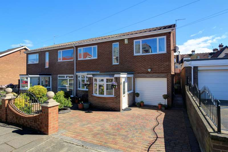 4 Bedrooms Semi Detached House for sale in Westcliffe Road, Sunderland, SR6 9NW
