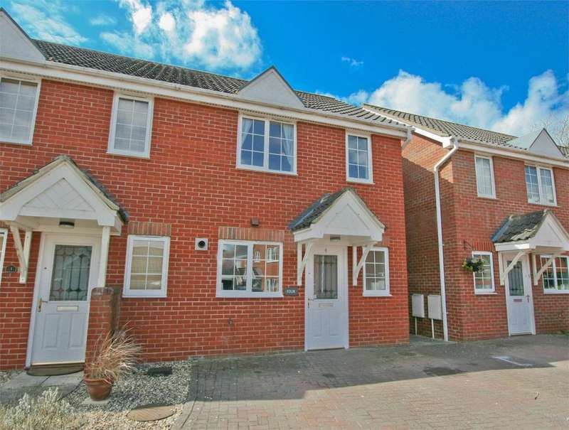 2 Bedrooms End Of Terrace House for sale in Cawdor Close, Attleborough, Norfolk