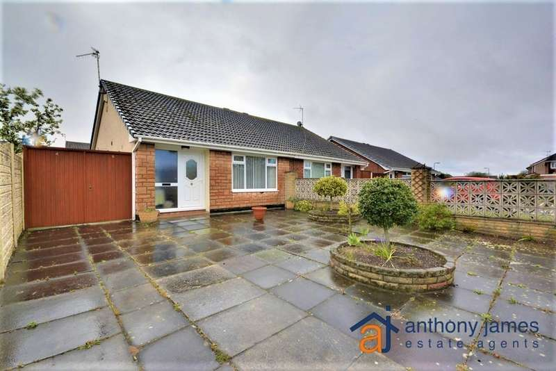 2 Bedrooms Bungalow for sale in Salcombe Drive, Marshside, PR9 9GL