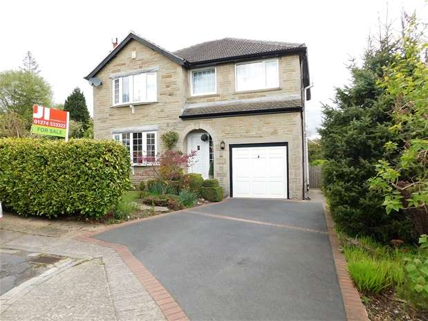 4 Bedrooms Detached House for sale in Shay Grove, Heaton, Bradford