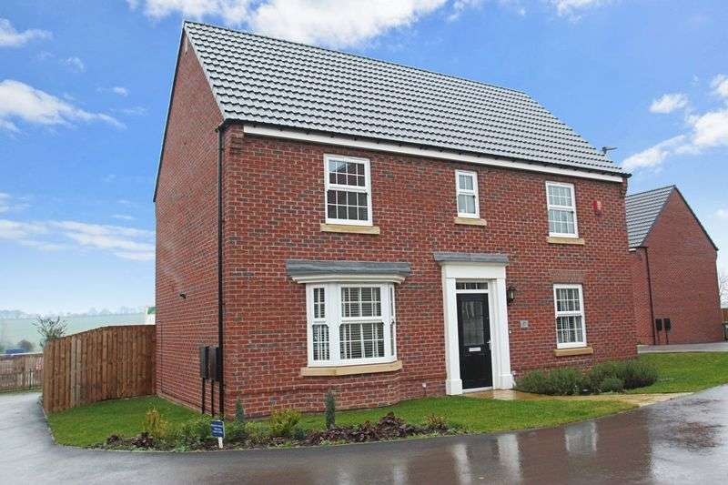 4 Bedrooms Detached House for sale in Sorrel Way, Pontefract