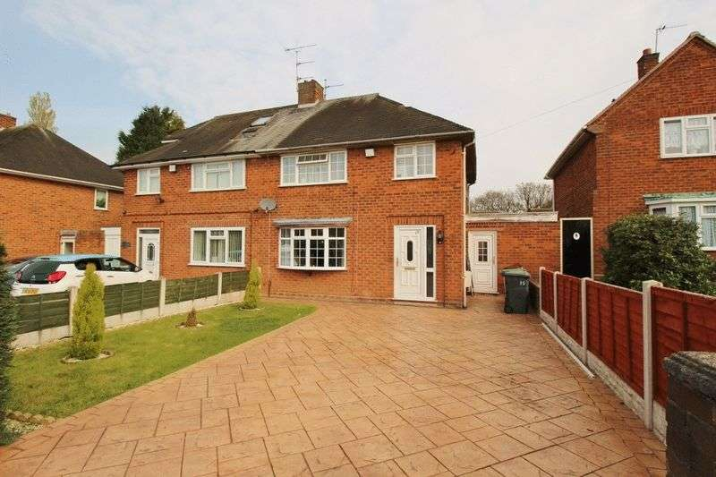 3 Bedrooms Semi Detached House for sale in Wolmer Road, Ashmore Park, Wednesfield