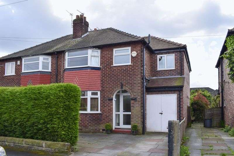 4 Bedrooms Semi Detached House for sale in Vale Road, Altrincham