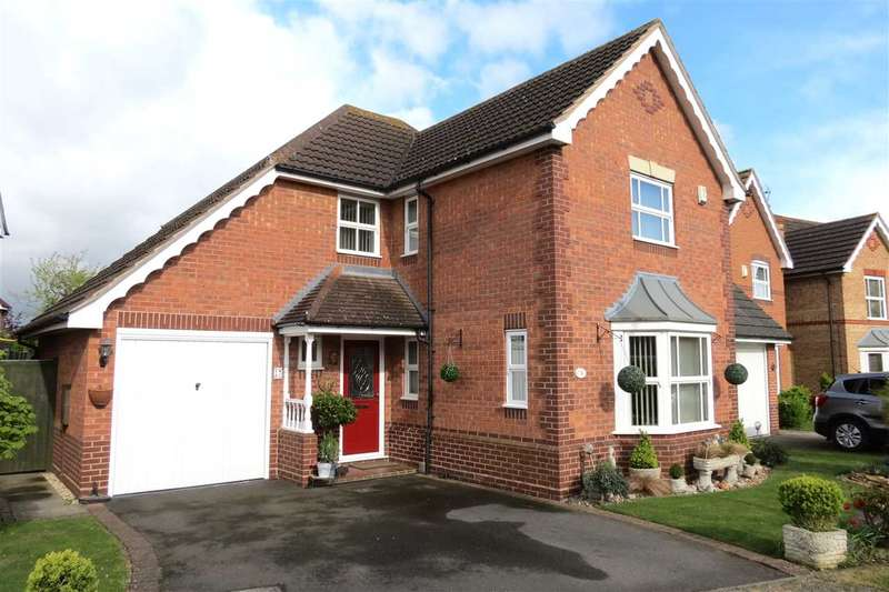 4 Bedrooms Detached House for sale in Vanguard Court, Sleaford