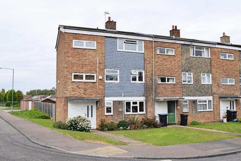 5 Bedrooms End Of Terrace House for sale in Rundells, Harlow, CM18 7HB