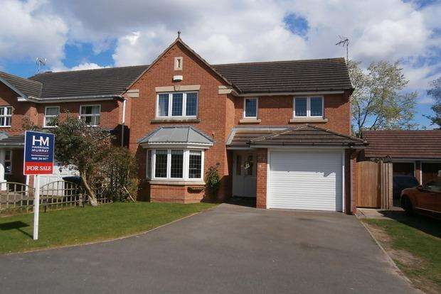 4 Bedrooms Detached House for sale in Bluebell Drive, Groby, Leicester, LE6