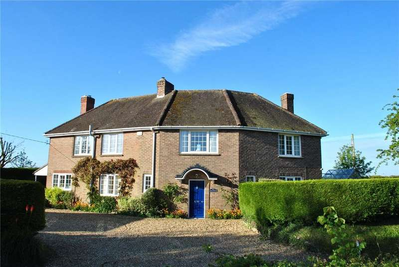 4 Bedrooms Detached House for sale in School Road, Seend, Wiltshire, SN12