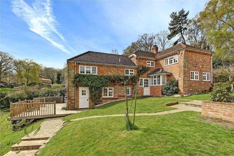 5 Bedrooms Detached House for sale in Zin Zan, Upper Bucklebury, Reading, Berkshire, RG7