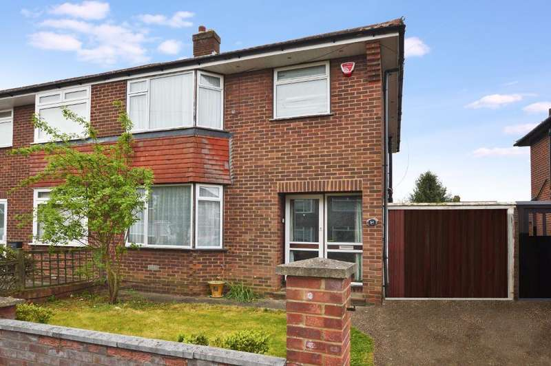 3 Bedrooms Semi Detached House for sale in Silecroft Road, St. Annes, Luton, LU2 0RN