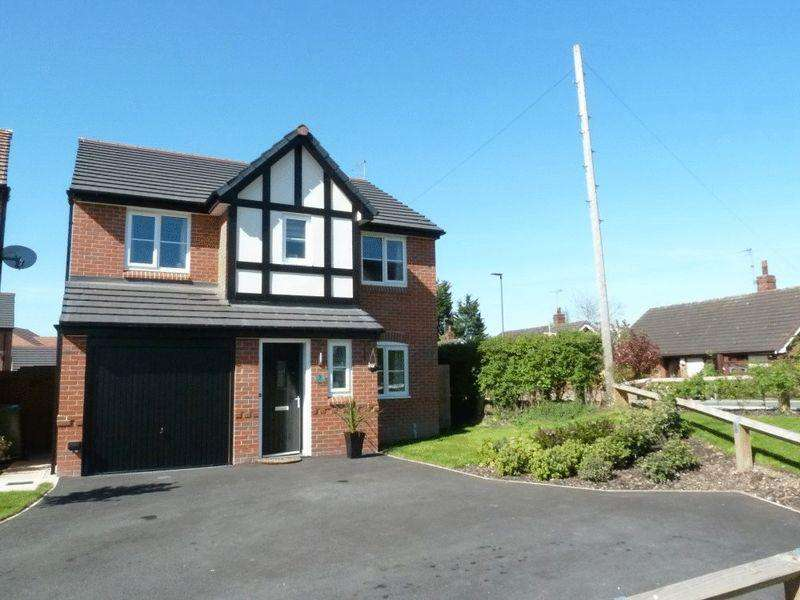 4 Bedrooms Detached House for sale in 3 Kendrick Close Shavington