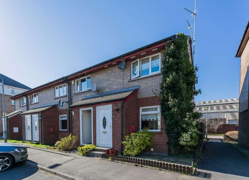 2 Bedrooms End Of Terrace House for sale in Bulldale Road, Yoker, Glasgow, G14 0NB