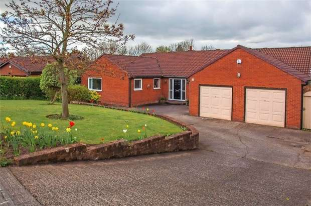 4 Bedrooms Detached Bungalow for sale in Askerton Drive, Peterlee, Durham