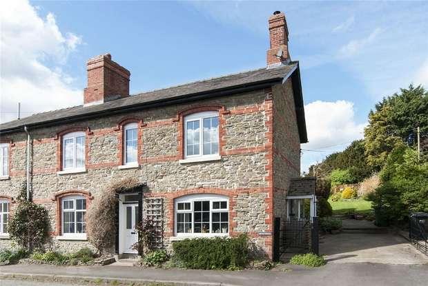 3 Bedrooms Cottage House for sale in Bryntirion, Watling Street, Leintwardine, Shropshire