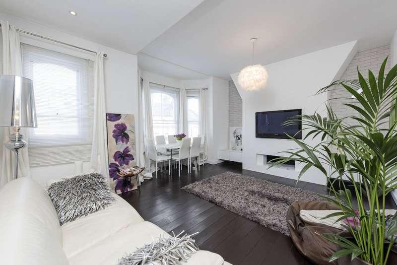 3 Bedrooms Flat for sale in Mallinson Road, Battersea, London
