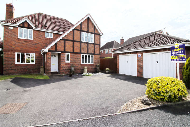 4 Bedrooms Detached House for sale in Hunt Avenue, Worcester, WR4