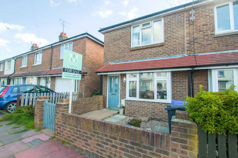 2 Bedrooms End Of Terrace House for sale in St. Anselms Road, Worthing