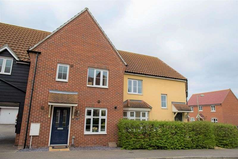 3 Bedrooms Terraced House for sale in Sycamore Drive, Bury St. Edmunds