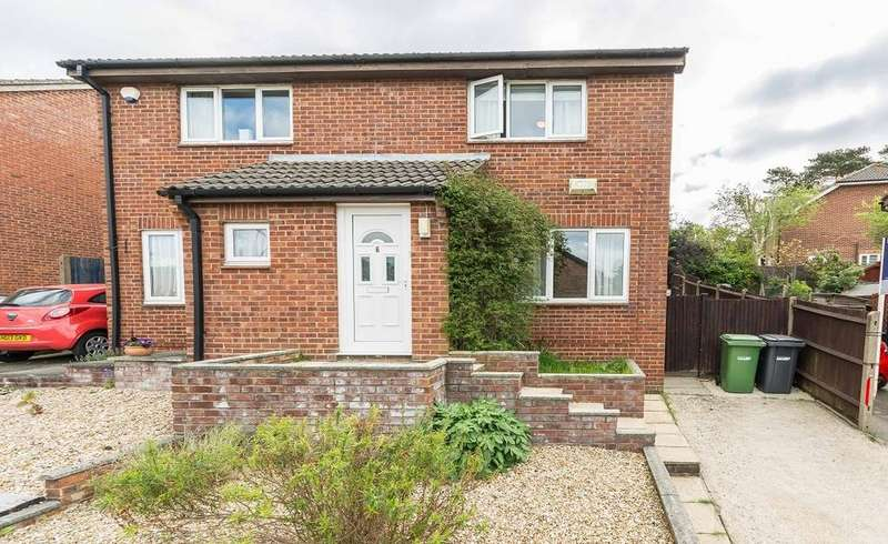 2 Bedrooms Semi Detached House for sale in Lancaster Close, Bursledon, Southampton SO31