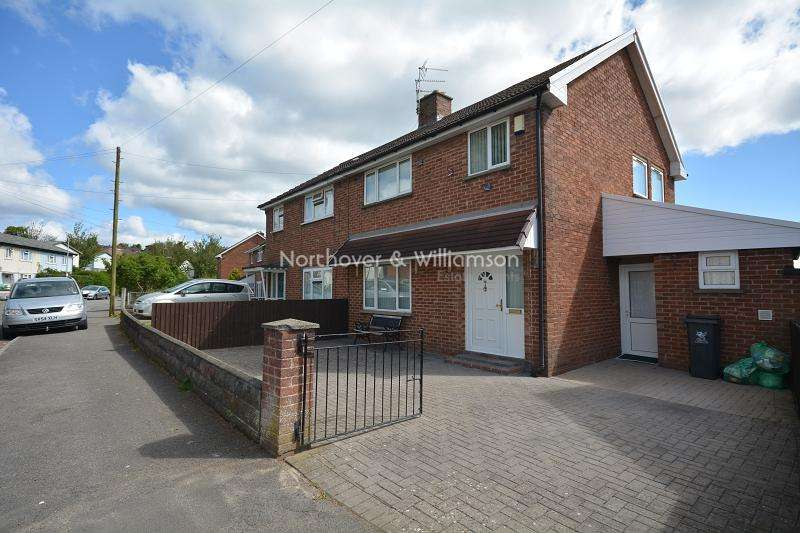3 Bedrooms Semi Detached House for sale in Penrhos Crescent, Rumney, Cardiff. CF3