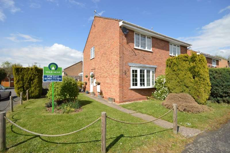 2 Bedrooms Semi Detached House for sale in Henley Drive, Droitwich, WR9