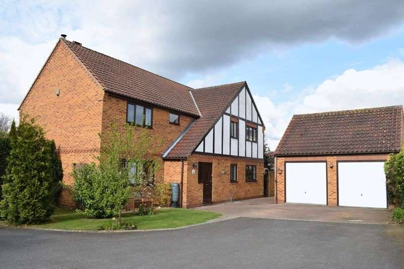 5 Bedrooms Detached House for sale in Dovecote Meadows, Wrawby