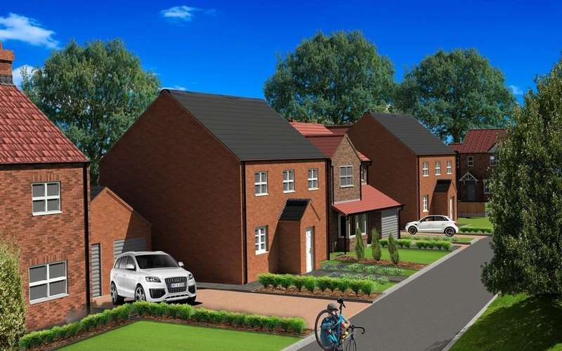 4 Bedrooms Detached House for sale in The Aspen, Plot 7, The Maples, Holton-le-Clay
