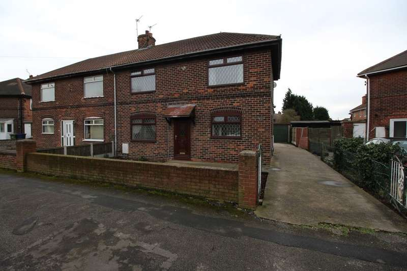 3 Bedrooms Semi Detached House for sale in Whitehouse Road, Bircotes, Doncaster, DN11