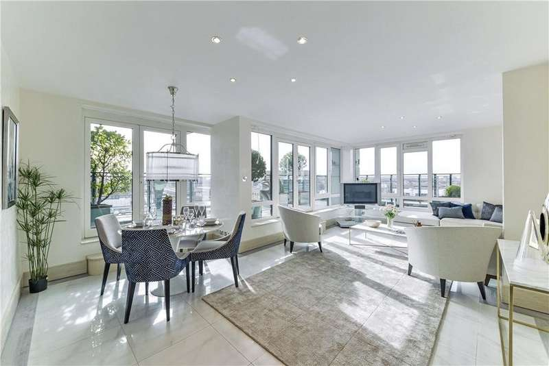 3 Bedrooms Penthouse Flat for sale in Warren House, Beckford Close, London, W14