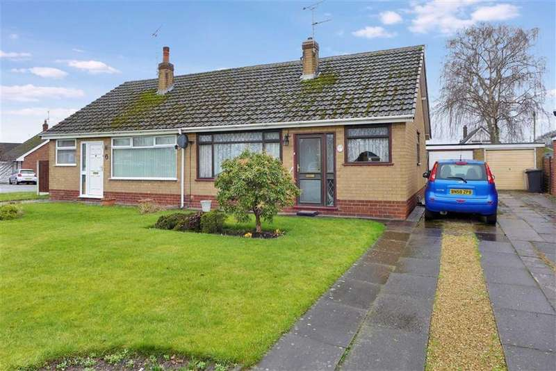 2 Bedrooms Semi Detached Bungalow for sale in Shelley Drive, Crewe
