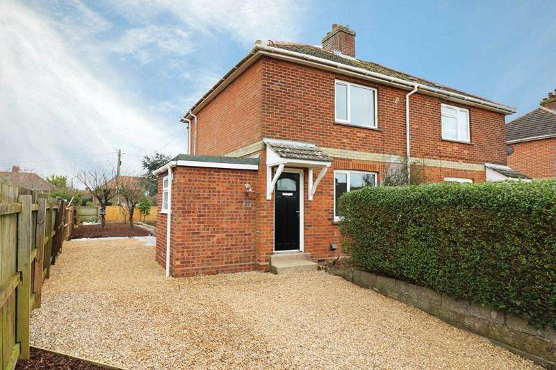 3 Bedrooms Semi Detached House for sale in Park Lane, Wymondham