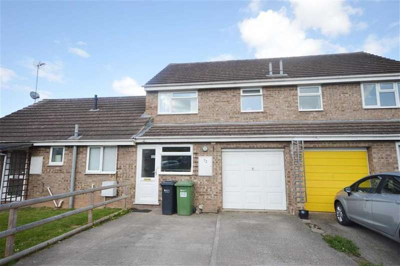 3 Bedrooms Terraced House for sale in 72, St Peters Close, Moreton On Lugg, HR4