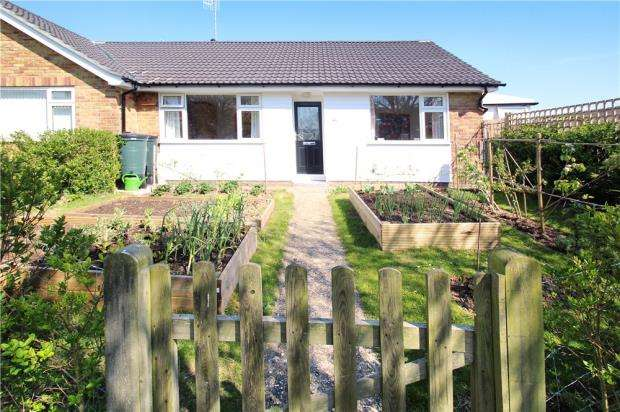 2 Bedrooms Semi Detached Bungalow for sale in Ambersham Crescent, East Preston, West Sussex, BN16