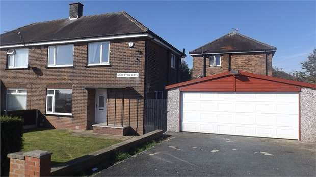 3 Bedrooms Semi Detached House for sale in Angerton Way, Bradford, West Yorkshire