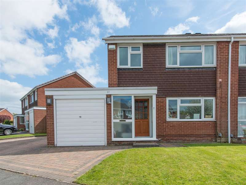 3 Bedrooms Semi Detached House for sale in Saxon Wood Road, Cheswick Green
