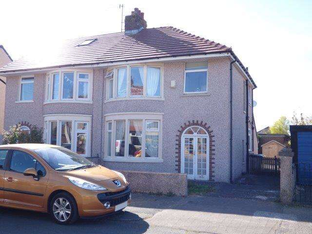 3 Bedrooms Semi Detached House for sale in Ruskin Drive, Morecambe, LA4 6EZ