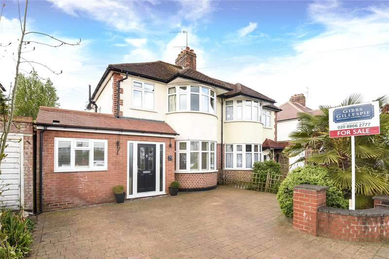 4 Bedrooms Semi Detached House for sale in Lulworth Drive, Pinner, Middlesex, HA5