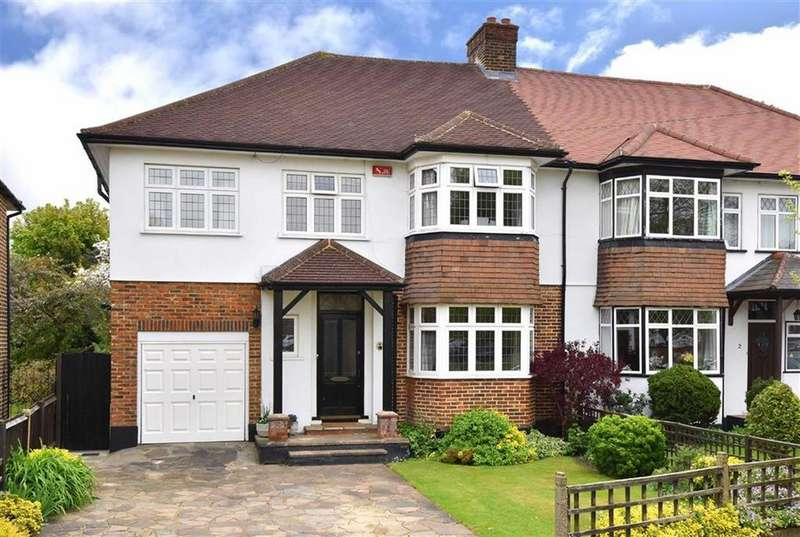 5 Bedrooms Semi Detached House for sale in Sackville Avenue, Hayes, Kent
