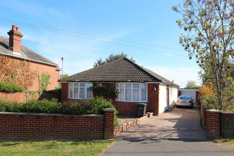 3 Bedrooms Detached Bungalow for sale in Freegrounds Road, Hedge End SO30