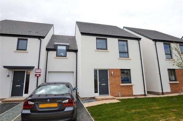 4 Bedrooms Link Detached House for sale in Meldon Fields, Okehampton, Devon