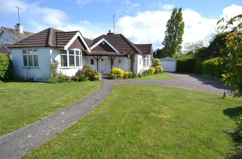3 Bedrooms Detached Bungalow for sale in 2 Swalecliffe Road, Tankerton, Whitstable
